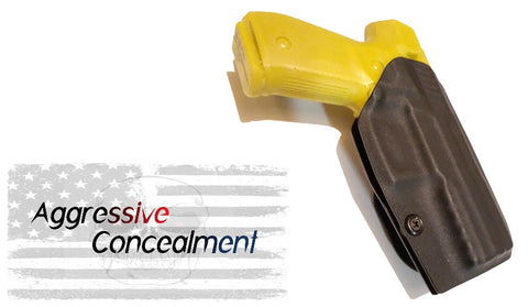 Aggressive Concealment REXOWB Outside the waistband Kydex Holster fits Arex REX Zero 1s