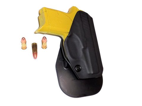 Aggressive Concealment outside the waistband paddle holster for Remington