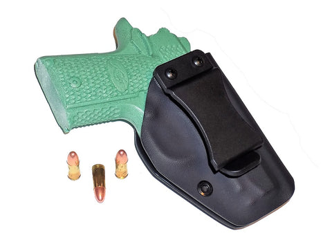 Aggressive Concealment KMRIWBLP IWB Kydex Holster Kimber micro raptor