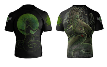 BJJ Horror Medusa - Raven Fightwear - US