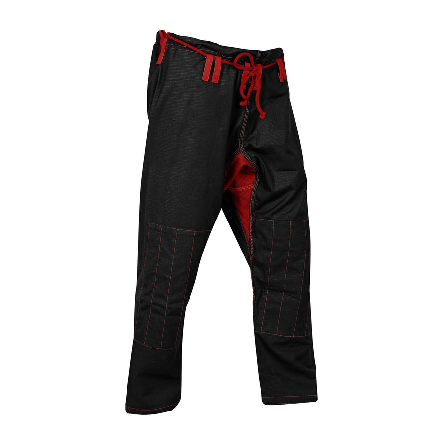 Black and red ripstop pants - Raven Fightwear - US