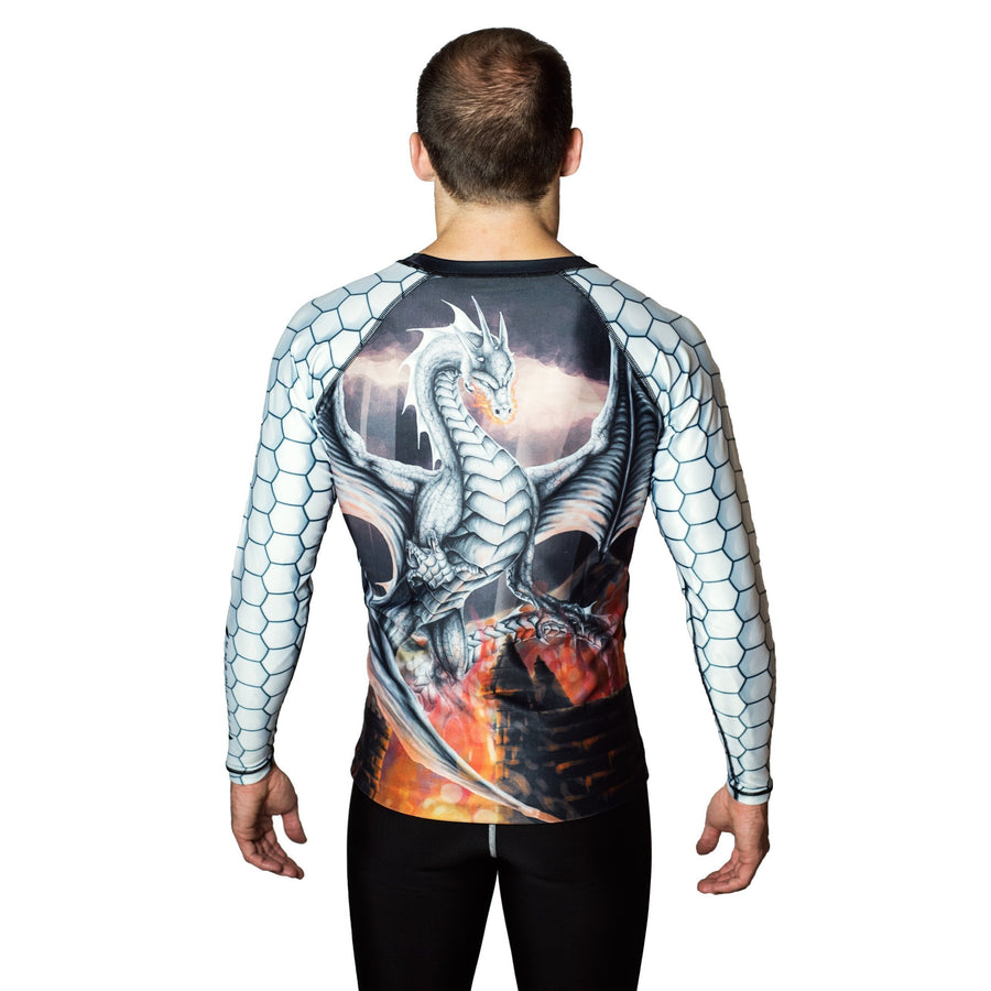 White Dragon - Raven Fightwear - US