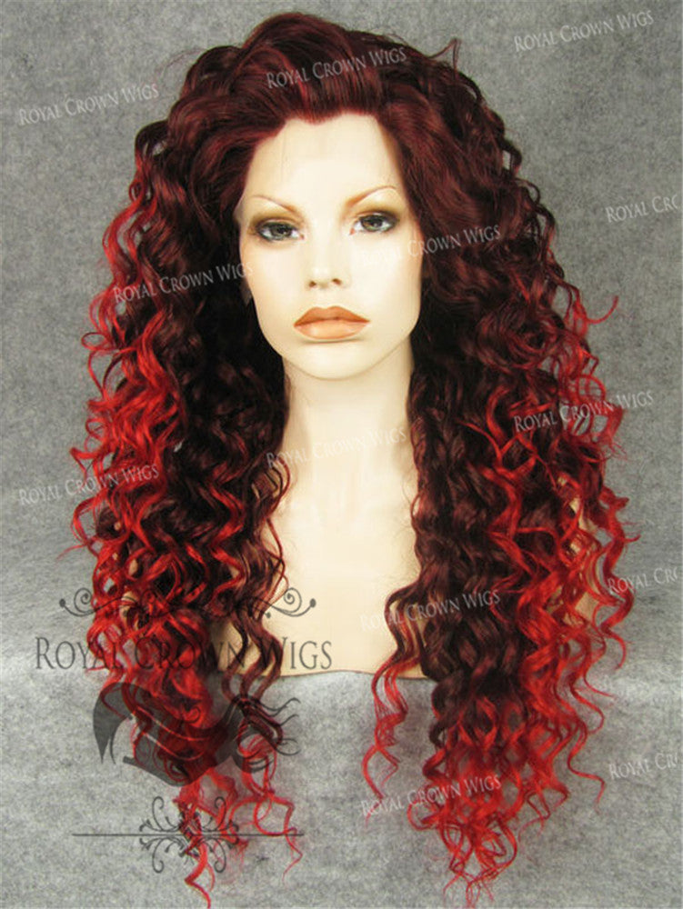 20 inch Heat Safe Synthetic Curly Texture Lace Front