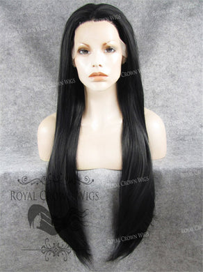 30 inch Heat Safe Synthetic Straight Lace Front