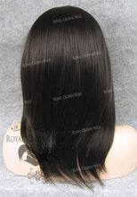 "14 inch Heat Safe Synthetic Lace Front ""Andromeda"" Straight Bob, Synthetic Wig, Royal Crown Wigs"