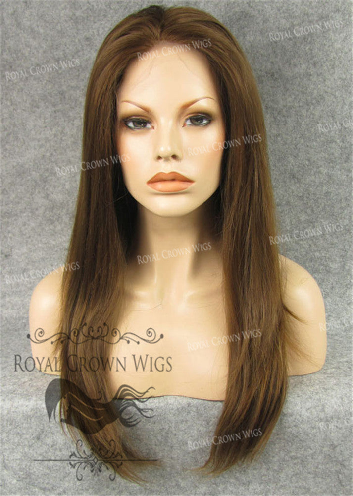 24 inch Synthetic Straight Texture Lace Front