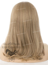 "17 inch Heat Safe Synthetic Lace Front ""Victoria"" Bob with Straight Texture in Dark Ash Blonde, Synthetic Wig, Royal Crown Wigs"