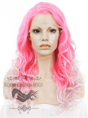 24 inch  Heat Safe Synthetic Wig Lace Front