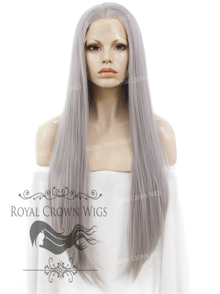 30 inch Straight Lace Front Synthetic Wig