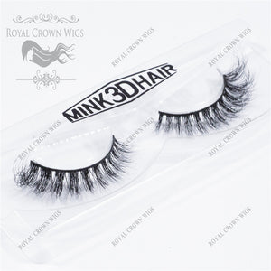 The Empress 3D Mink Strip Lash Sets (10), Lash Extension, Royal Crown Wigs