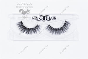 The Archdutchess 3D Mink Strip Lash Sets (10), Lash Extension, Royal Crown Wigs
