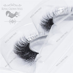 The Princess 3D Mink Strip Lash Sets (10), Lash Extension, Royal Crown Wigs