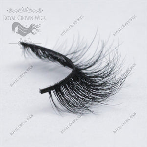The Queen 3D Mink Strip Lash Sets (10), Lash Extension, Royal Crown Wigs