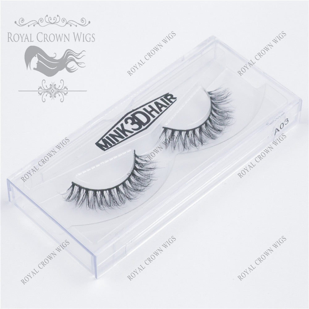 The Grand Dutchess 3D Mink Strip Lash Sets (10), Lash Extension, Royal Crown Wigs