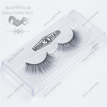 The Grand Princess 3D Mink Strip Lash Sets (10), Lash Extension, Royal Crown Wigs