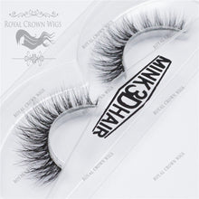 The Dutchess 3D Mink Strip Lash Sets (10), Lash Extension, Royal Crown Wigs