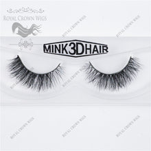 The Baroness 3D Mink Strip Lash Sets (10), Lash Extension, Royal Crown Wigs