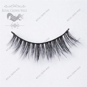 The Dame 3D Mink Strip Lash Sets (10), Lash Extension, Royal Crown Wigs