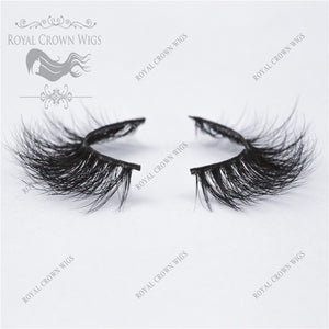 The Lady 3D Mink Strip Lash Sets (10), Lash Extension, Royal Crown Wigs