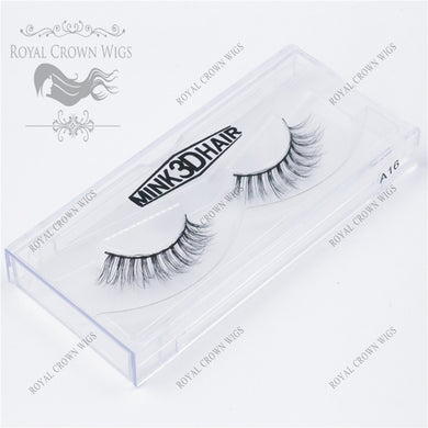The Diva 3D Mink Strip Lash Sets (10), Lash Extension, Royal Crown Wigs