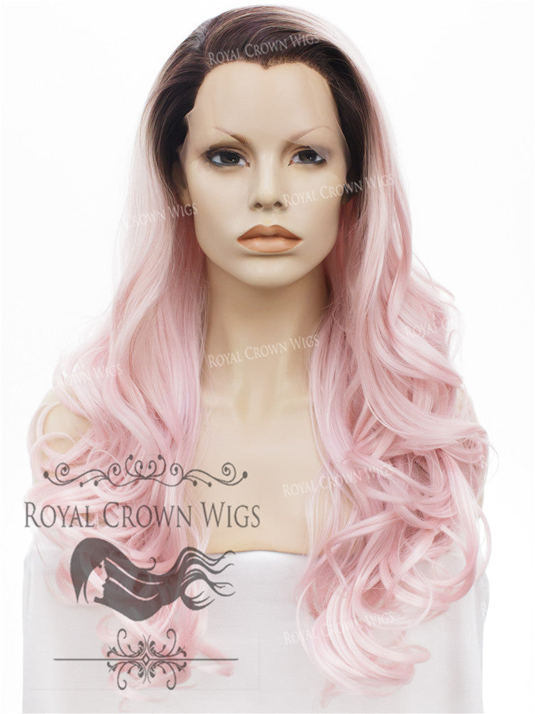 26 inch Heat Safe Synthetic Lace Front