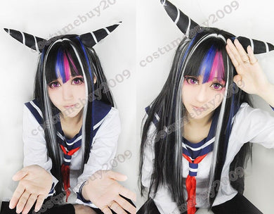 Super Dangan Ronpa 2 Ibuki Mioda Cosplay Wig, Specialty Wig, Royal Crown Wigs