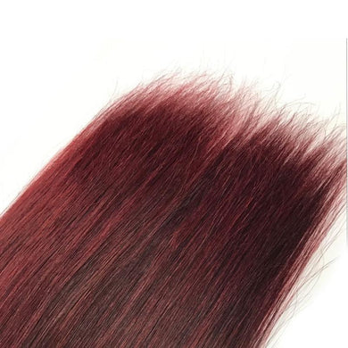 RedWine Color Peruvian Straight Human Hair Bundles 10-26 inch Remy Must buy 3-4 Pcs