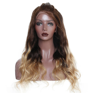 250% Density Virgin Brazilian Human Hair Lace Front Wig Pre-Plucked, Baby Hair and Bleached Knots, Today Only Collection, Royal Crown Wigs