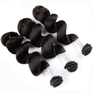 Peruvian Loose Wave Human Hair Weave Remy Hair Bundles 10-28 inch Must Buy 3 or 4 Bundles