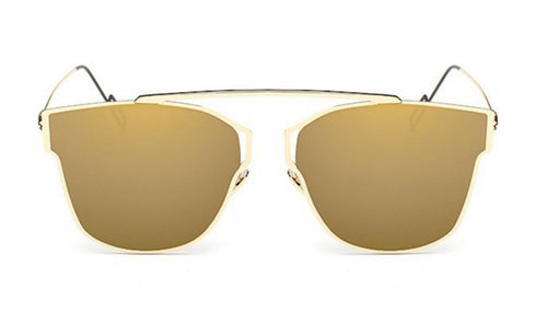 Steampunk Sunglasses - Sierra - Gold Mirrored - levur