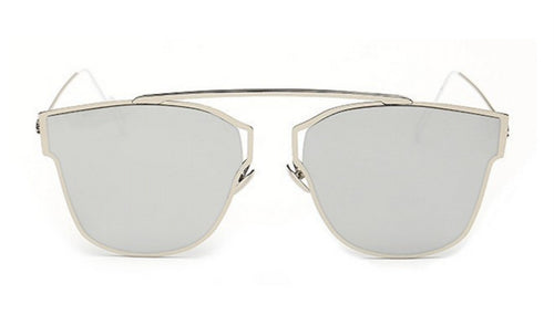 Steampunk Sunglasses - Sierra - Silver Mirrored - levur