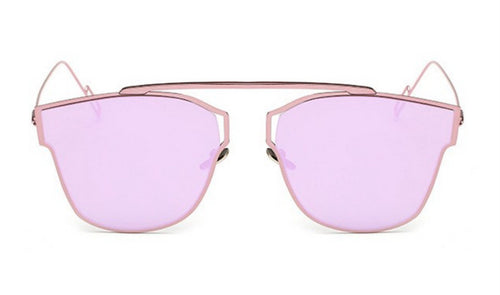 Steampunk Sunglasses - Sierra - Pink Mirrored - levur