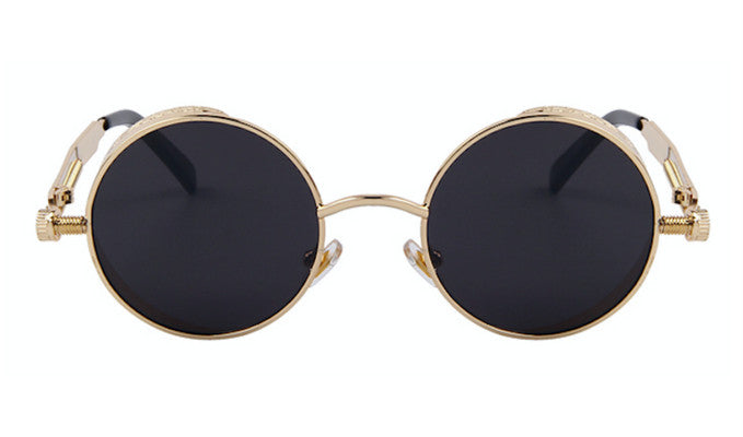 Steampunk Sunglasses - Oxford - Gold & Black - levur