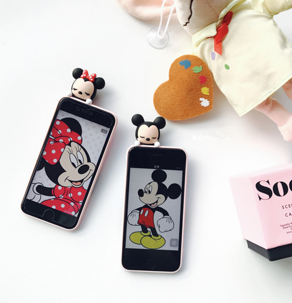 3D Sleeping Disney iPhone Cases