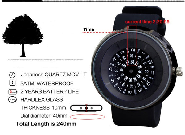 The Numerals Watch
