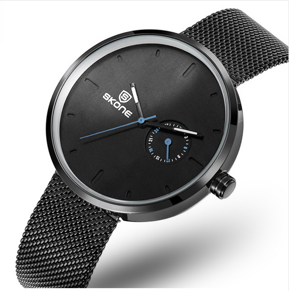 Minimalist Modern Metal Watch by SKONE
