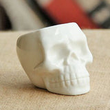 Ceramic Skull & Face Tabletop Decor