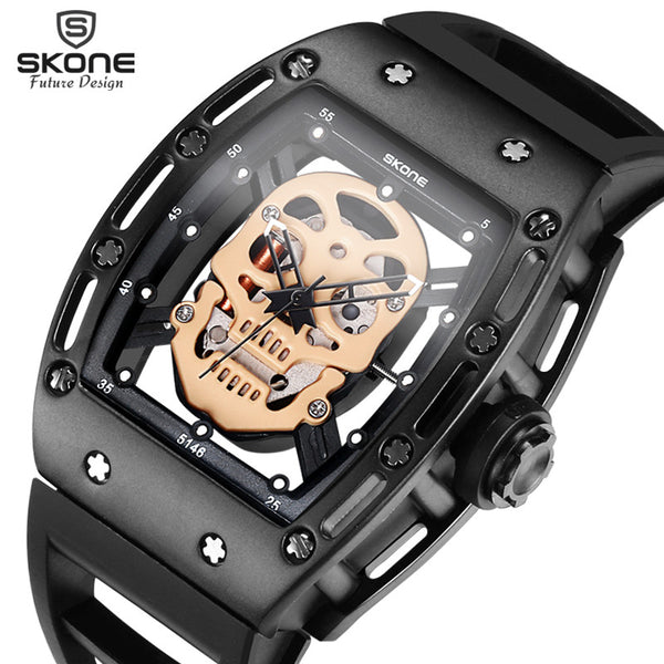 Floating Skull Watch by SKONE