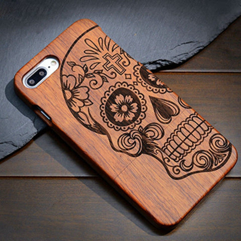 Handcrafted Wooden Phone Case (Samsung, iPhone)