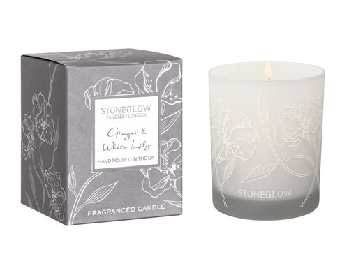 Ginger & White Lily Tumbler Candle