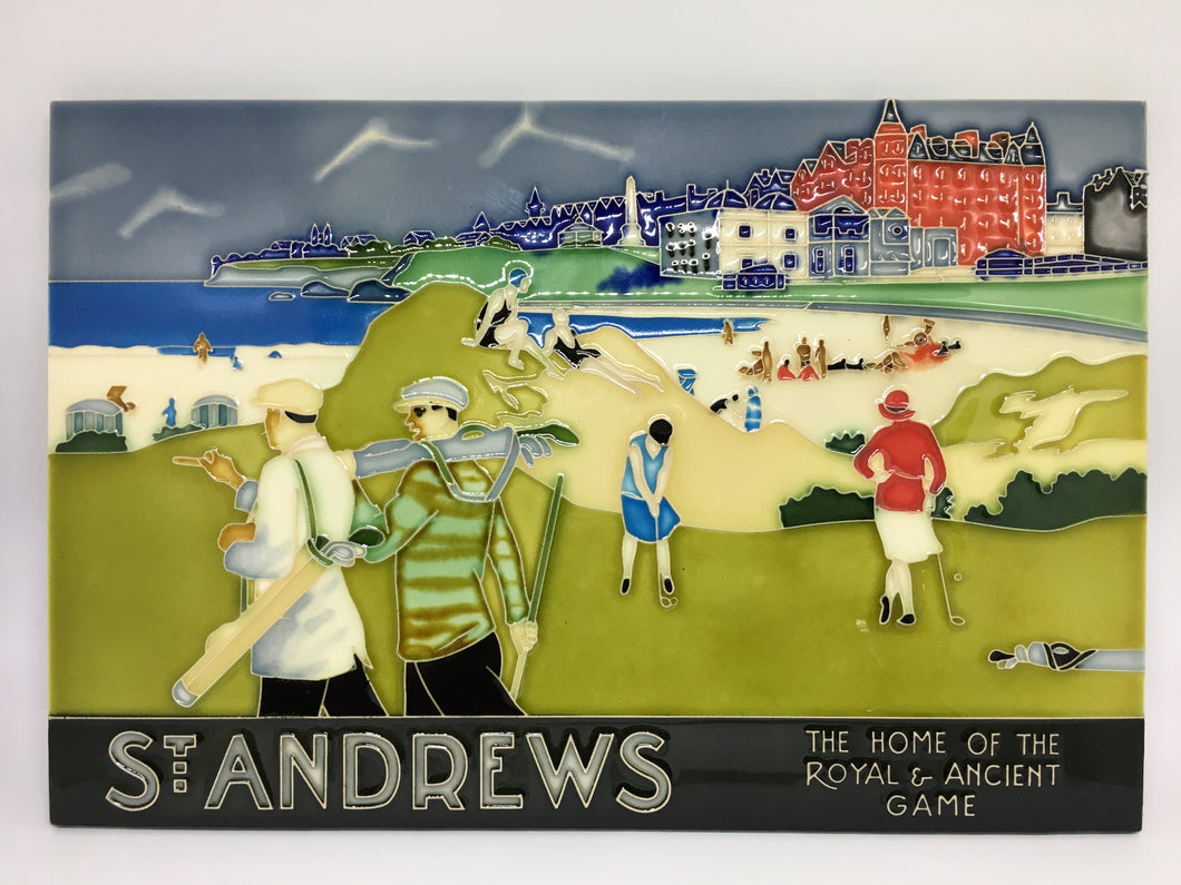 St Andrews small Ceramic Tile