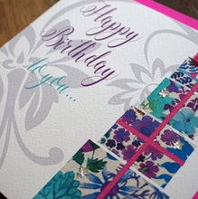 Floral Print Presents - WCC Card