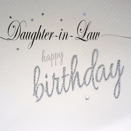 Birthday Love Lines Daughter-In-Law - WCC Birthday Card