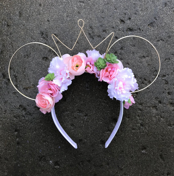 Pink Pretties Floral Wire Ears – SoulfullyCali