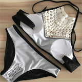 Brazilian Bikini Push Up Lace Bikini Set