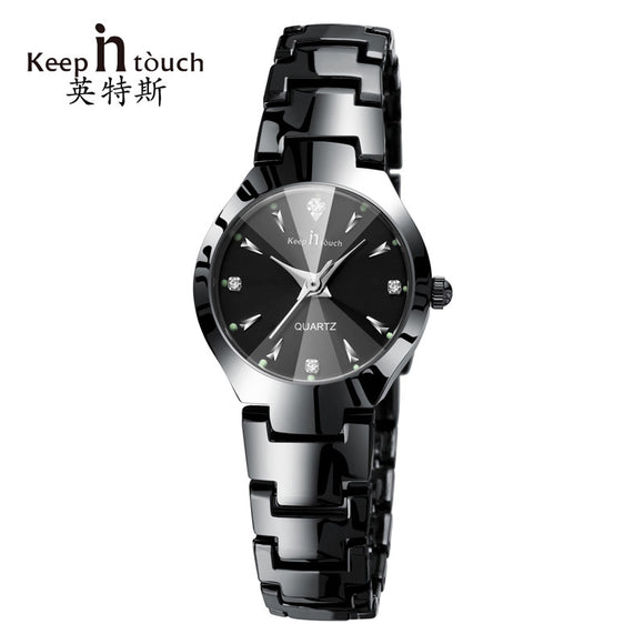 Keep in touch Luxury Quartz Women Watches Designer Luminous Woman Wristwatch Rhinestone Ladies Watch Bracelet Relogio Feminino