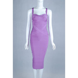 Woman Bandage Dress Bodycon Party Dress
