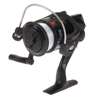 High Speed G-Ratio 5.2:1 Fishing Reels Aluminum Body Spinning Reel Rocker Arm Copper Rod Rack Drive Fish Tool with 40-50m Line