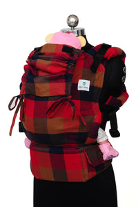 Easy Feel Full Buckle Ergonomic Soft Structured Carrier (Preschool Size) - Allure