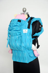 Standard Wrap Converted Soft Structured Carrier - Azureous